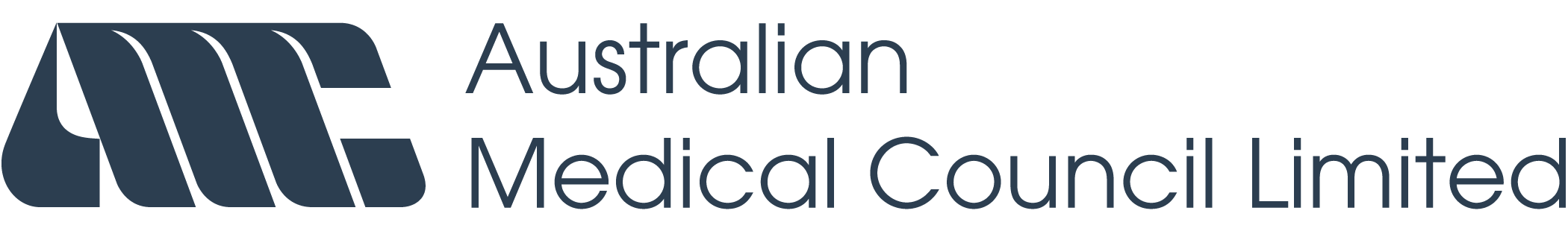Amc logo blue